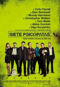 Cine de estreno: SIETE PSICÓPATAS (2013)