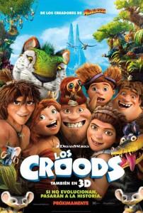 Cine de estreno: LOS CROODS (2013)