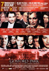 Cine clásico: GOSFORD PARK (2001)