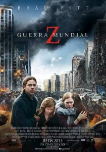 Cine de estreno: GUERRA MUNDIAL Z (2013)