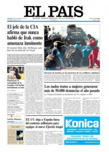 LOS 5 DIARIOS GENERALISTAS MÁS LEÍDOS EN ESPAÑA