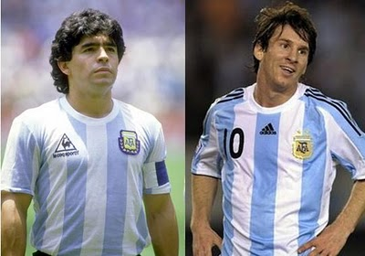 LOS 5 MEJORES FUTBOLISTAS DE LA HISTORIA DE ARGENTINA