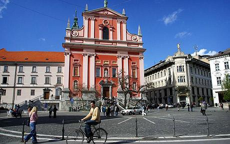 Conociendo Eslovenia: LJUBLJANA