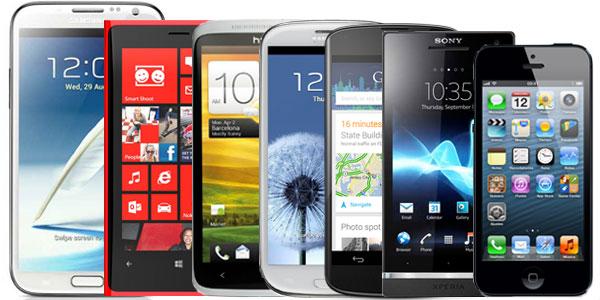LOS 5 MEJORES SMARTPHONES DEL MUNDO