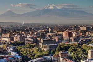 VISITA A EREVÁN: La capital de Armenia