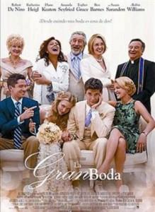 Cine de estreno: LA GRAN BODA (2013)
